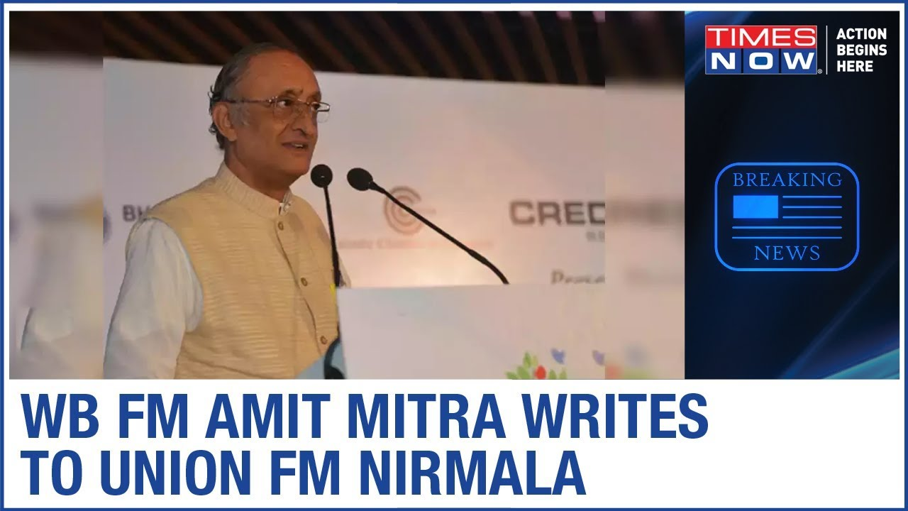 West Bengal FM Amit Mitra writes to Union FM Nirmala Sitharaman to release funds to fight COVID-19
