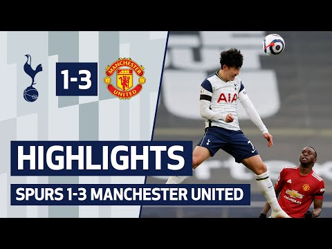 HIGHLIGHTS | Spurs 1- 3 Man Utd | Man United overturn Son's first-half opener to take three points