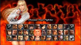 철권5 다크 레저렉션 리리 스토리 모드(Tekken 5…