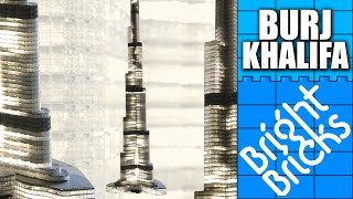 Giant LEGO Burj Khalifa - Bright Bricks Timelapse
