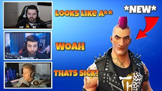 STREAMERS REACT TO *NEW* LEAKED SKINS! - Fortnite Funny & Epic Moments #21