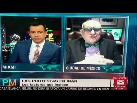 """Alfredo Jalife """"Irán 2018: Protestas de los jóvenes desempleados"""" mi entrevista a CNN en Español"""