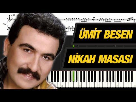 Nikah Masası [Piyano]+[Nota]+[Karaoke]