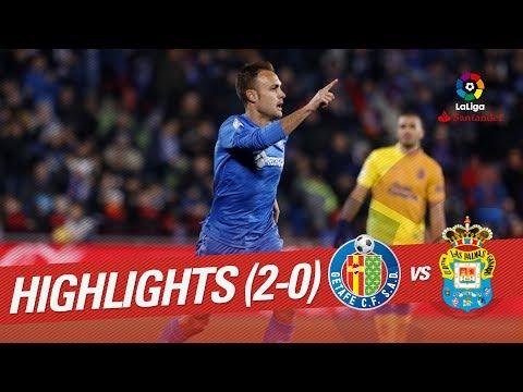 Resumen de Getafe CF vs UD Las Palmas (2-0)