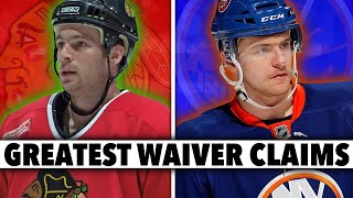 7 Of The GREATEST Waiver Claims In NHL HISTORY