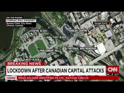 Breaking News: Terror at Canada's Parliament, a potential gunman on the loose