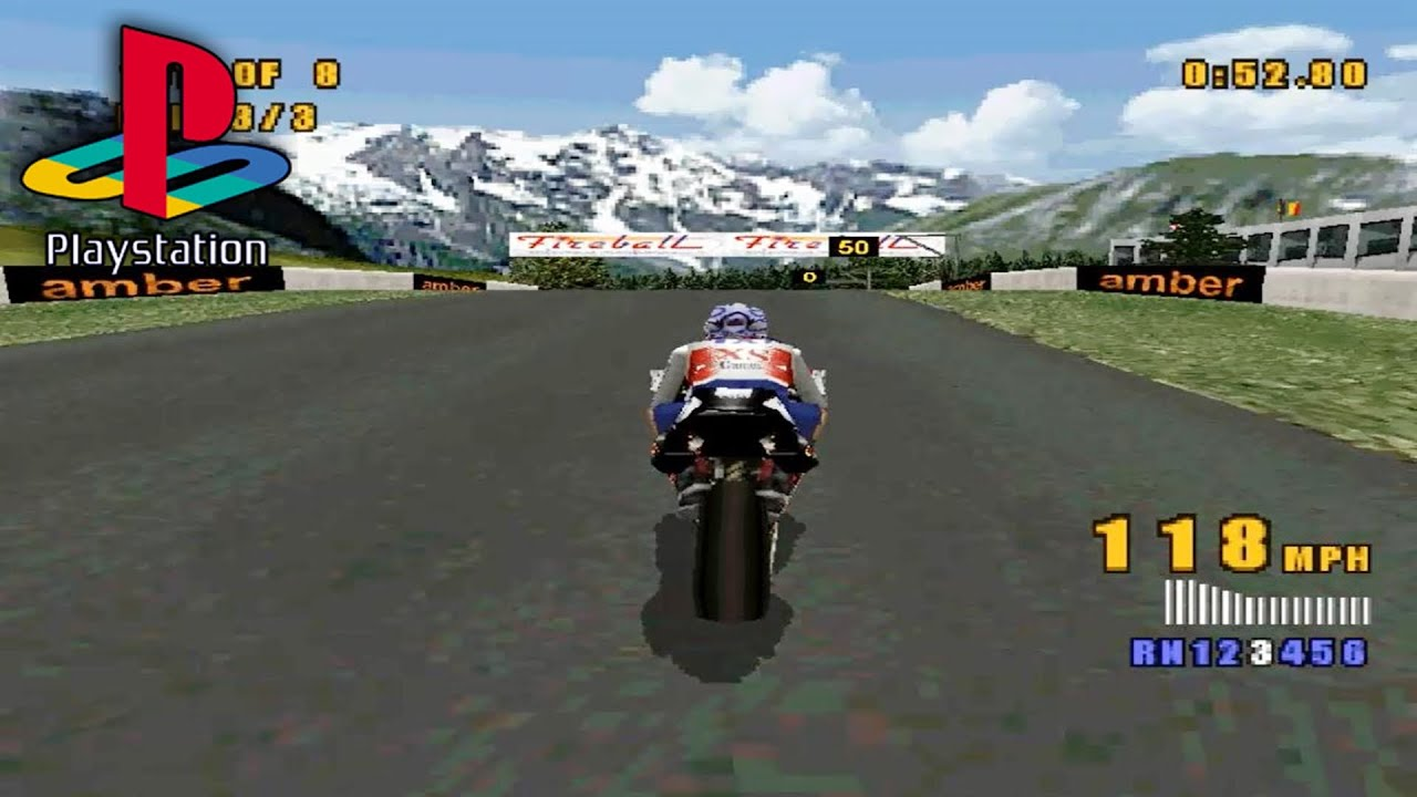 XS Moto (PS1 Gameplay) - YouTube