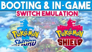 Pokemon Sword & Shield | In-Game on Day of Release - Switch Emulation