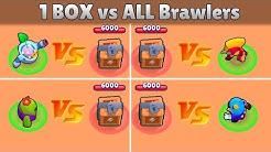 1 Box VS ALL Brawlers I Olympiad Brawl Stars