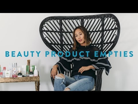 Beauty Product Empties  Holy Grail Products and What I didnt like  Aimee Song