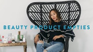 Beauty Product Empties - Holy Grail Products and What I didn't like | Aimee Song