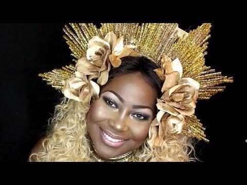 Diy Beyonce 2017 Grammys Headress Youtube