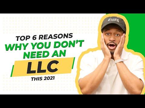Disadvantages of LLC:
