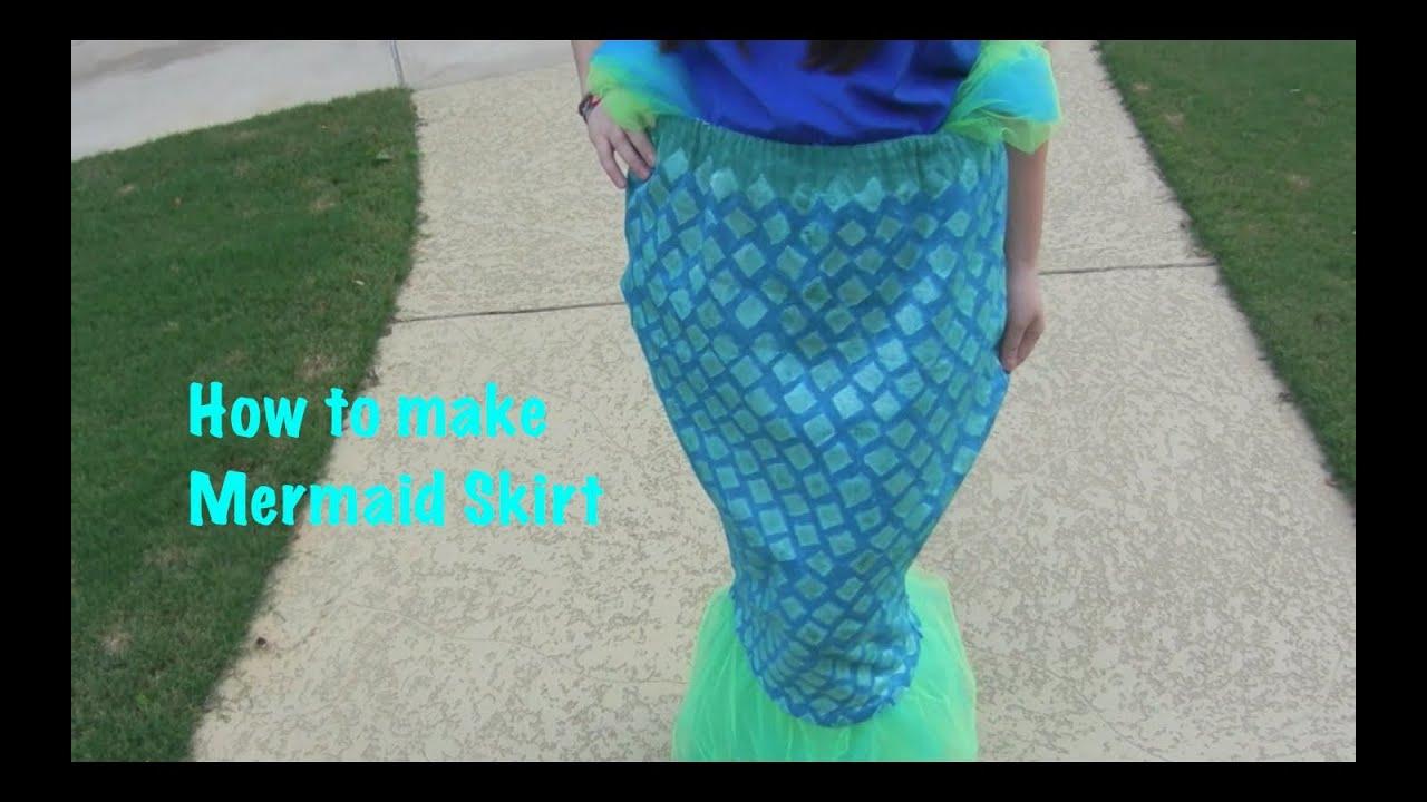 How To Make A Mermaid Costume Youtube