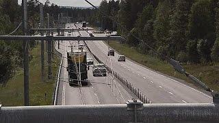 La primera autopista eléctrica, a prueba en Suecia - science