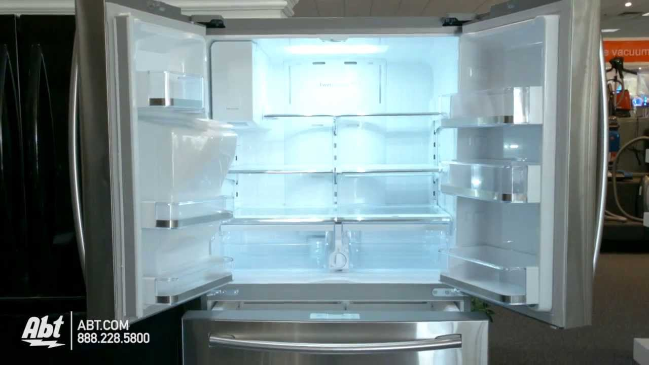 Samsung RF24FSEDBSR/AA Counter Depth French Door Refrigerator...   YouTube