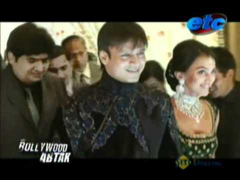 Vivek Oberoi's wedding reception