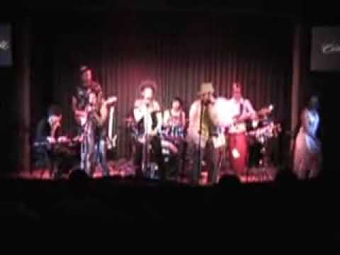 Sir Jac's FUNK CABARET Live at CINEGRILL-ROOSEVELT Hotel,Hollywood