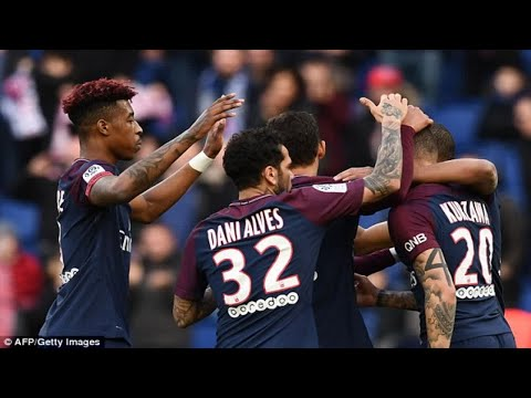 PSG 2-1 Angers: Kylian Mbappe brace enough to hand Unai Emery's side nervy home win as Thiago