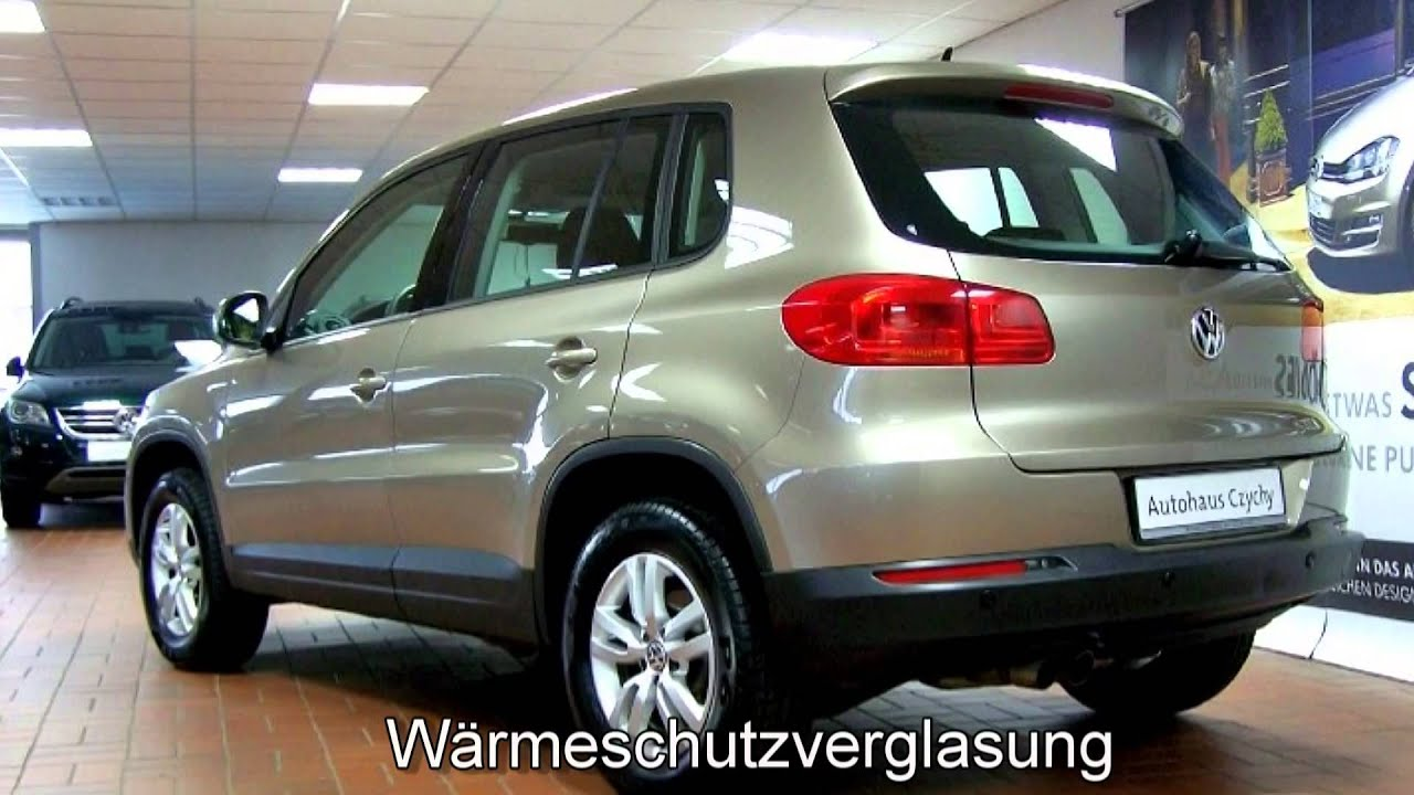 "Volkswagen Tiguan 1.4 TSI Trend & Fun CW051645 Titanium Beige ""AUTOHAUS CZYCHY"" - YouTube"