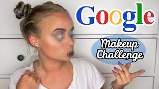 GOOGLE BESTIMMT MEIN MAKEUP CHALLENGE| Blond_Beautyy