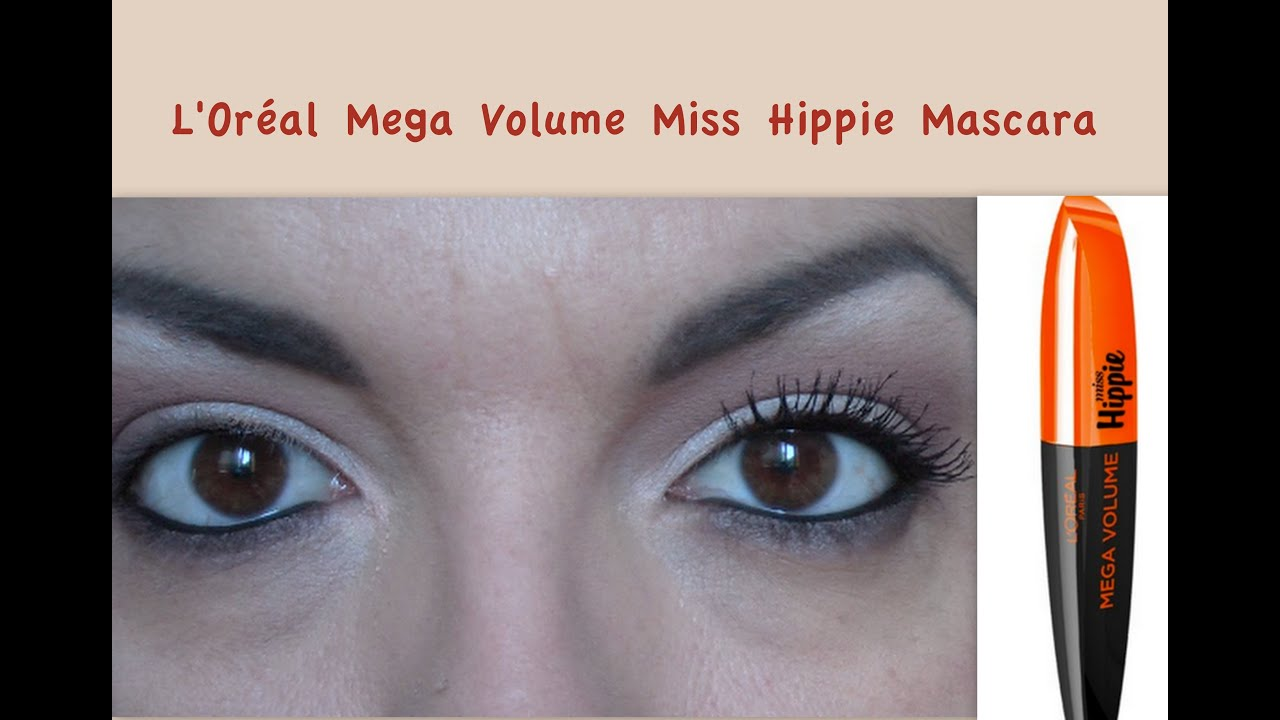 e9a2be4bbfd L'OREAL MEGA VOLUME MISS HIPPIE Volume scompigliato (DEMO) - YouTube