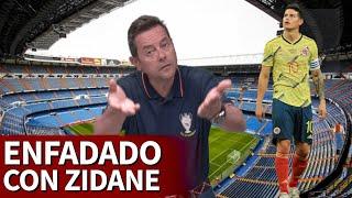 """El enfado de Roncero con Zidane por James: """"Estamos devaluando a un crack mundial""""   Diario AS"""