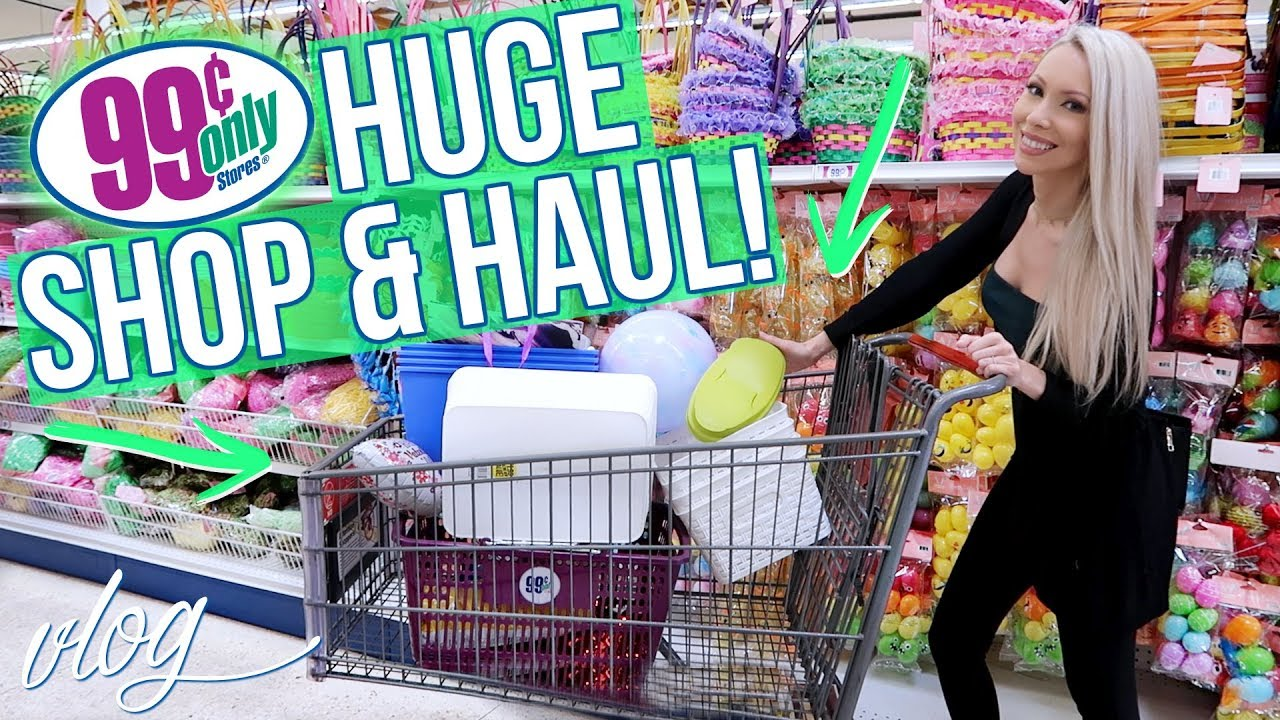 HUGE 99 CENTS STORE SHOP WITH ME HAUL
