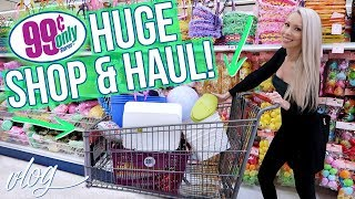 HUGE 99 CENTS STORE SHOP WITH ME & HAUL!
