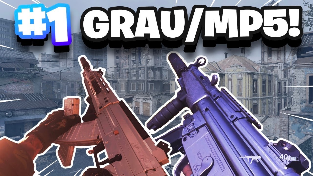 FASTEST KILLING GRAU/MP5 CLASS SETUP in WARZONE UPDATE 1.22!! (Modern Warfare Warzone SEASON 4)