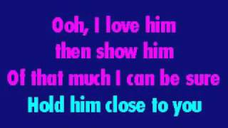 Celine Dion & Barbra Streisand - Tell Him (Karaoke)
