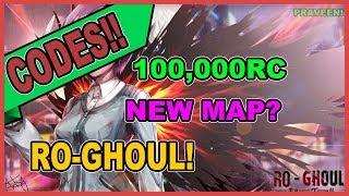[CODES!] Ro-Ghoul - NEW MAP?  100,000 RC , BlackenHair  Roblox