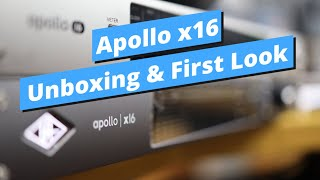 Apollo x16 Unboxing & First Look / 언박싱 & 첫 소감