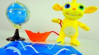 Поделки: Бумажное море. Игрушки из мультфильма