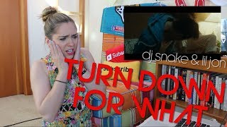 TURN DOWN FOR WHAT?! DJ Snake & Lil Jon (Reaction Video)