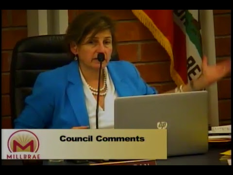 Millbrae City Council Meeting - April 24, 2018