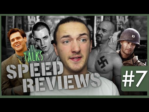 Speed Reviews #7 - American History X, Se7en, Trainspotting & More!