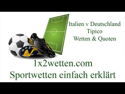 Video Wetten italien deutschland