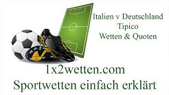 Tipico Quoten Italien Deutschland Wetten