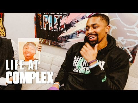 Brooklyn Nets Spencer Dinwiddie Stops By Complex Office | Life At Complex