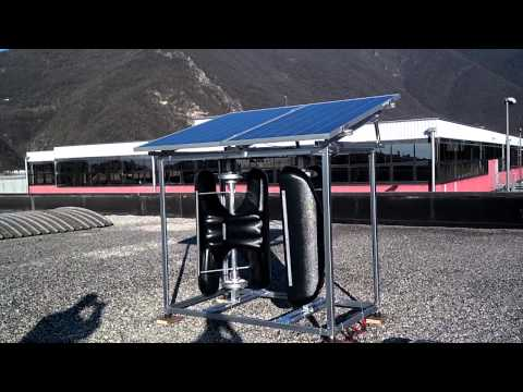 The EnerCube - a EHT Wind Resources Vertical Axis Wind Turbine
