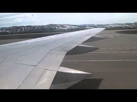 United Airlines Boeing 757-200 Departure from Yampa Valley Regional Airport