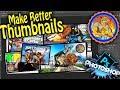 How I Make Youtube Thumbnails | Make Better Thumbnails | Photoshop Tutorial | Twitch Creative Stream