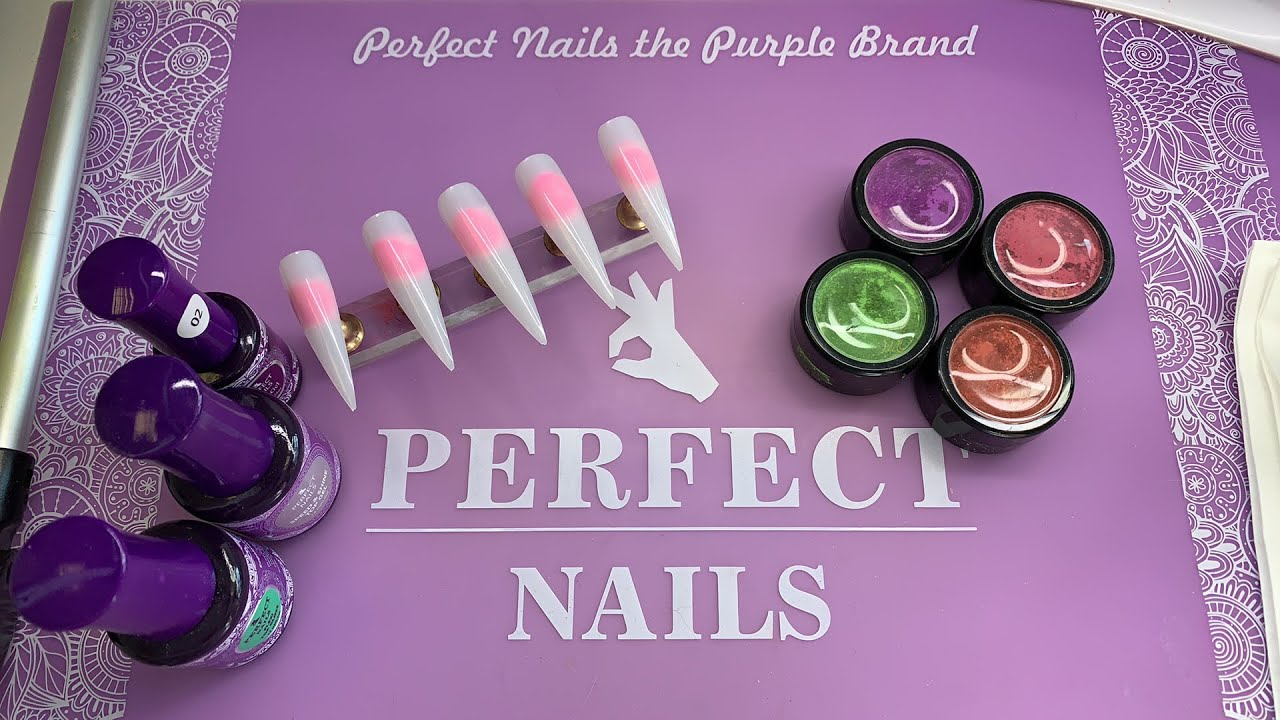 Perfect nails thermo powders - YouTube