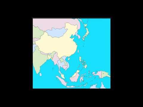 South East & East Asia Mnemonics