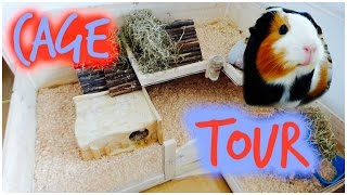 Summer Guinea Pig Cage Tour | 2015 Diy Cage