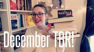 December TBR Thumbnail