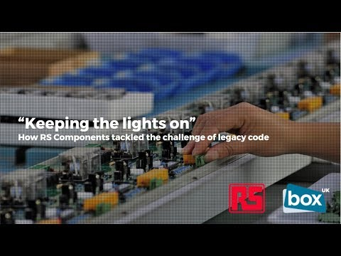 Keeping the lights on: how RS Components tackled the challenge of legacy code