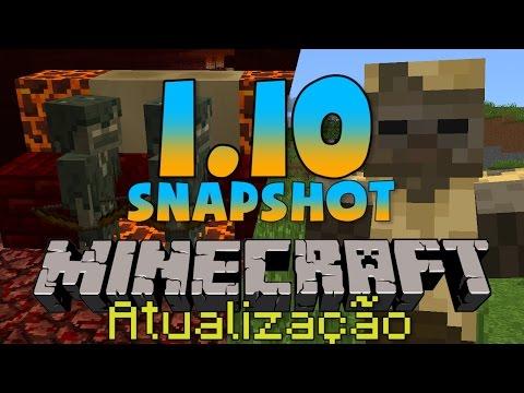 Minecraft 1.10: NOVOS MOBS E BLOCOS! | Principais Mudanças!
