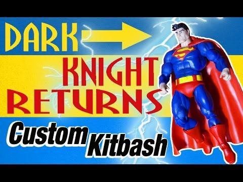 Custom Kitbash DC Comics Multiverse Dark Knight Returns Superman Action Figure